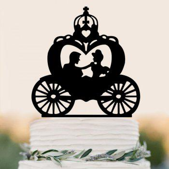 Nouveau Covers Insert Cake Carriage Cake Row-A - Noir