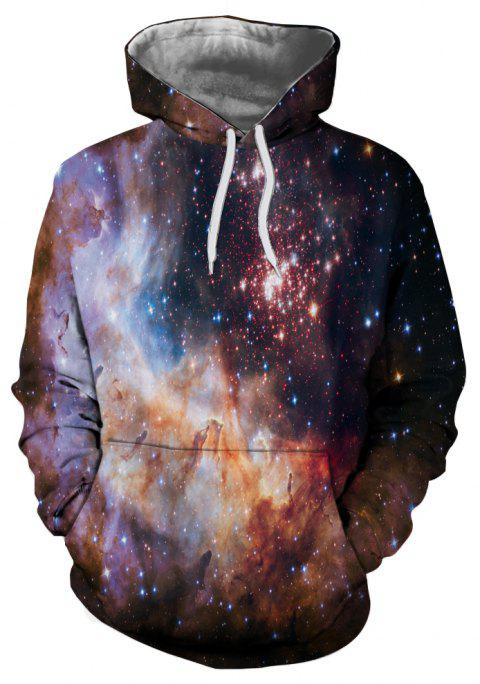 New Autumn and Winter Characters Series Hooded Sweatshirt - multicolor D 3XL