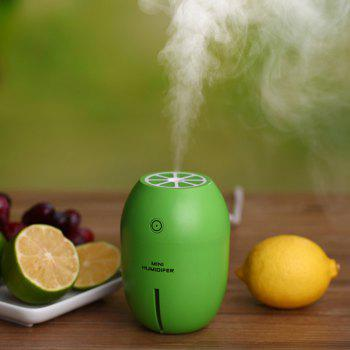 USB Mini Lemon Humidifier Office Home Vehicle Ultrasonic Nebulizer - GREEN SNAKE