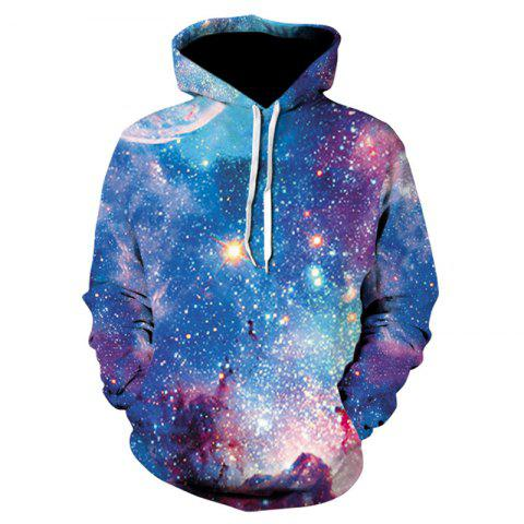 3D Print Men's Sweater Coat Multicolor Casual Graphic T-shirt Hoodies - multicolor 2XL
