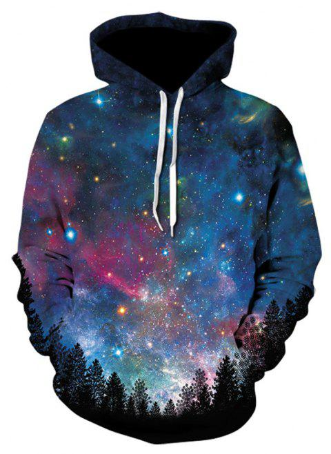 Multicolor 3D Print Men's Sweater Coat Casual Graphic T-shirt Hoodies - multicolor C 2XL