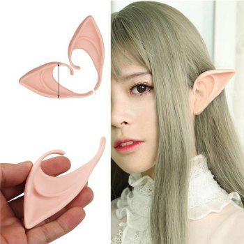 April Fool's Day Halloween Party Elven Ears Anime Fairy Cosplay Costumes - SAKURA PINK