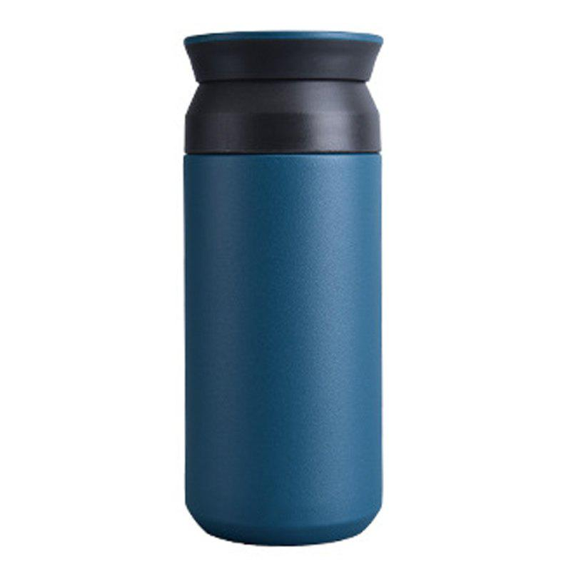 Up and Down Double Cover Tea Compartment Design 304 Stainless Steel Vacuum - BABY BLUE