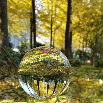 K9 Clear Crystal Ball Globe Suit with Stand for Photography Decoration Lens - TRANSPARENT