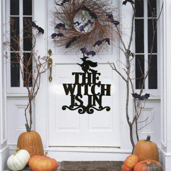 Halloween Hanging Door Decorations Wall Party Home Decoration Holiday Accessorie - BLACK