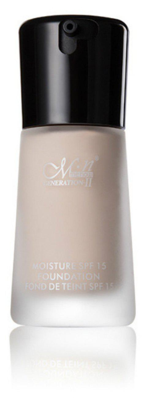 MENOW Liquid Foundation Hydratant Hydrofuge - 002