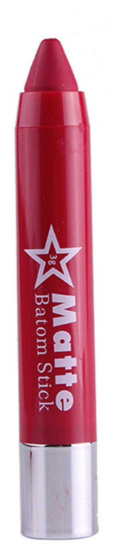 Lip Crayon Matte Stick Makeup Rotate Lipstick - 004