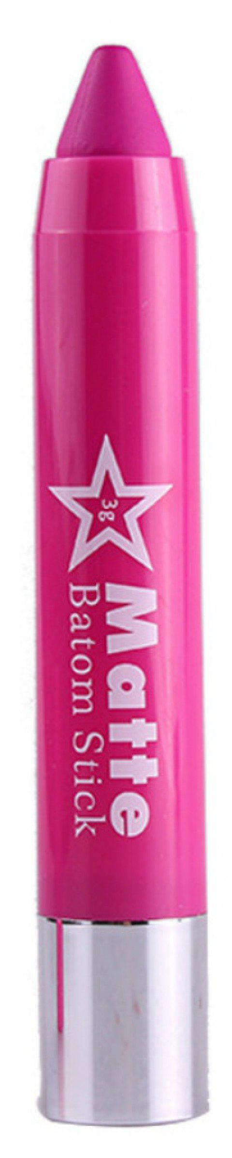 Lip Crayon Matte Stick Makeup Rotate Lipstick - 003