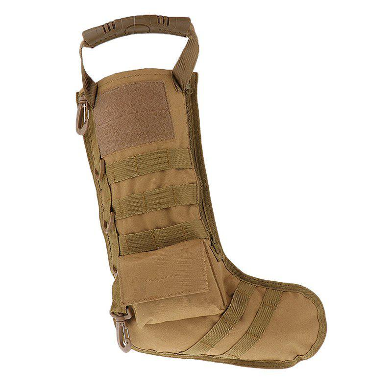 Tactical Bag Accessories Storage Christmas Stockings Shaped - DARK GOLDENROD