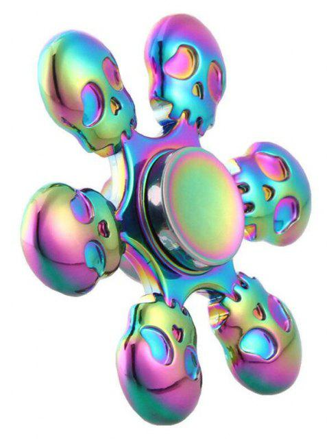 Colorful Fingertip Gyro Decompression  Toy - multicolor