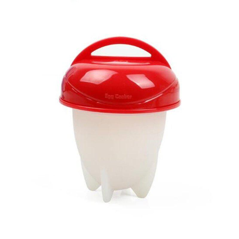 Kitchen Tools Mini Boiled Egg Cup Artifact  ABS - RED