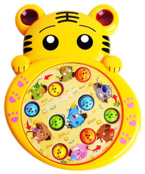 Lovely Baby Electric Music Playing Hamster Game - GOLD