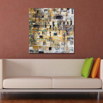 DYC Lattice Abstractions Print Art - multicolor