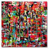 DYC Mosaic Abstraction Print Art - multicolor