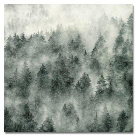 DYC Thick Forest Print Art - multicolor