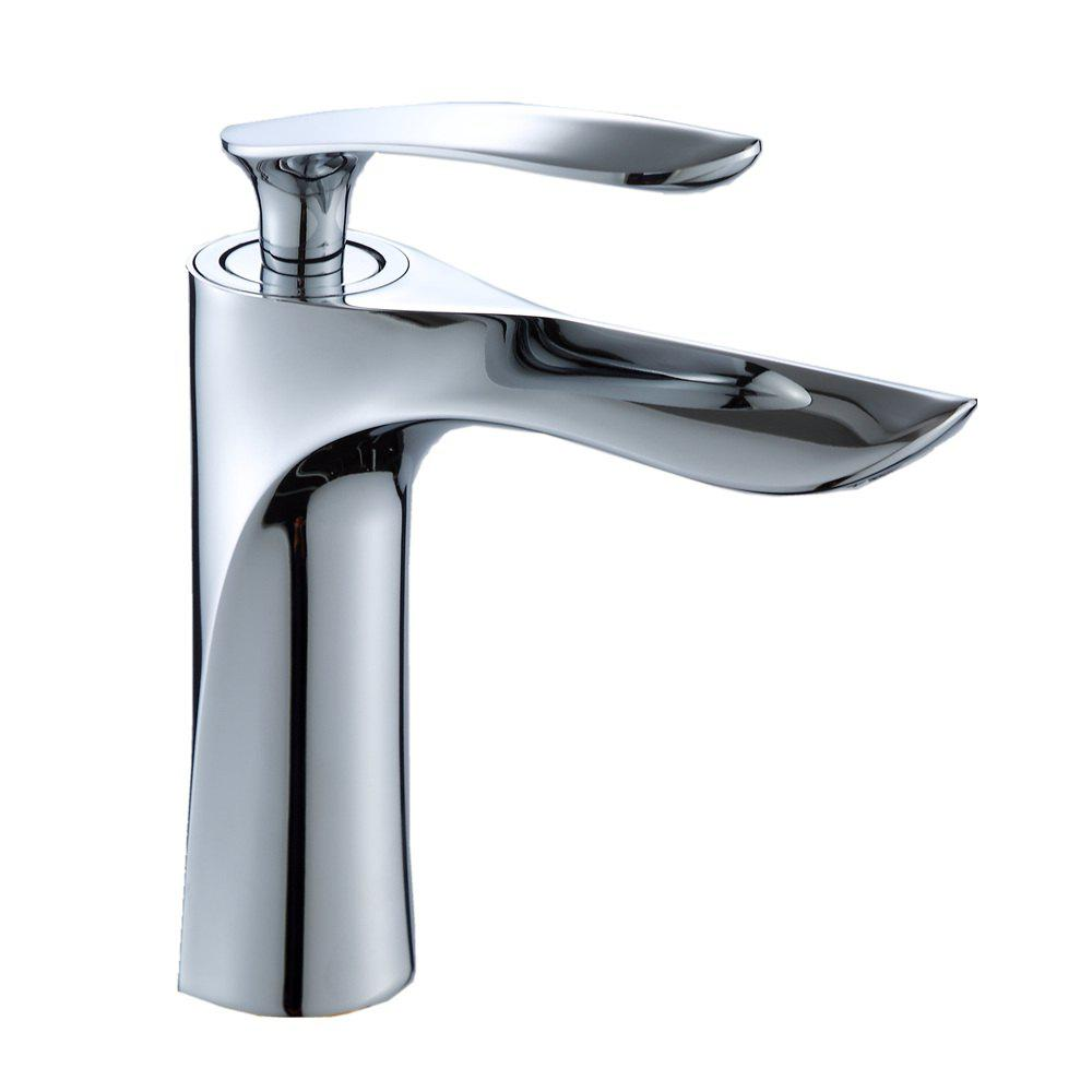 Washbasin  Faucet Bathroom Hot and Cold Water Mixing Valve - PLATINUM