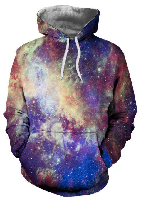 New Fashion Casual Novelty 3D Printed Hoodies - multicolor A L