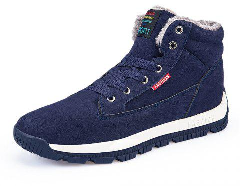 Men's Winter Casual  Snow Boots Fashion Wild - CADETBLUE EU 39
