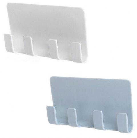 Stickup Style Wall Cell Phone Bracket 2PCS - multicolor B
