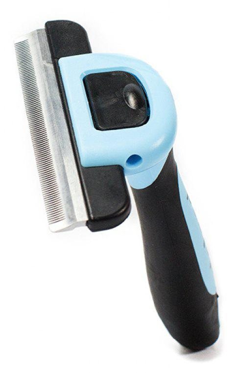 Pet Grooming Hair Removal Comb - ROBIN EGG BLUE L