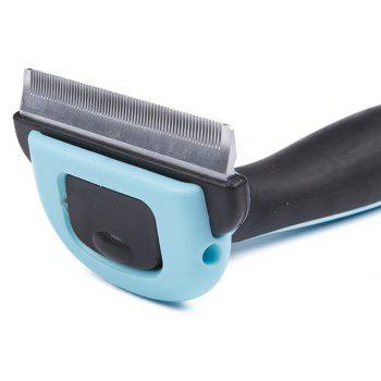 Pet Grooming Hair Removal Comb - ROBIN EGG BLUE M