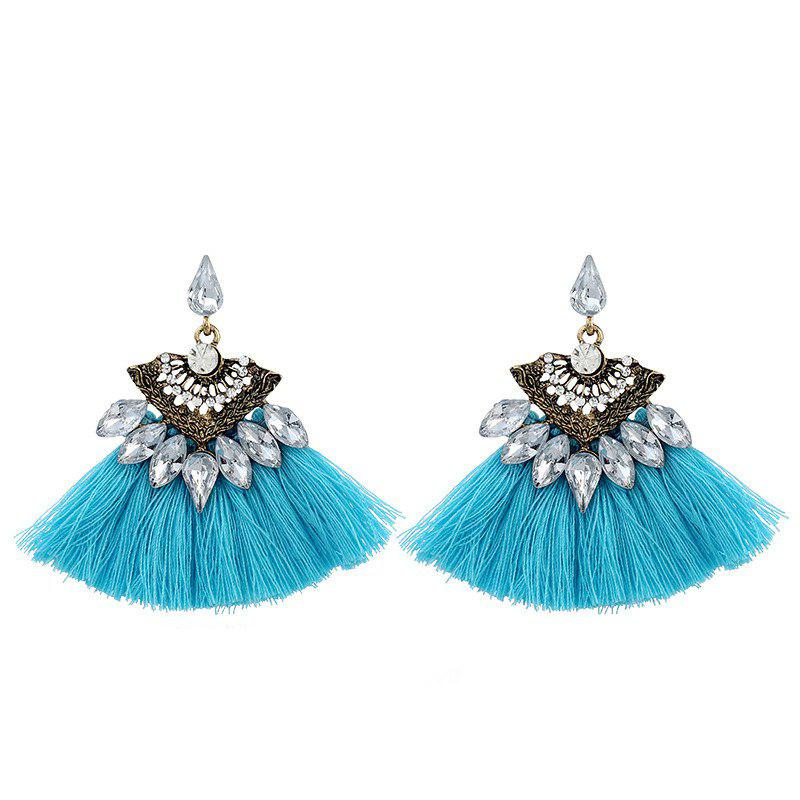 Fashion Vintage Vogue Bohemia Style Earrings Girl - OCEAN BLUE