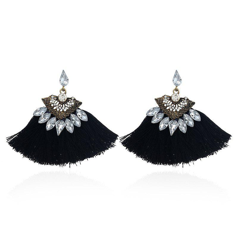 Fashion Vintage Vogue Bohemia Style Earrings Girl - NIGHT
