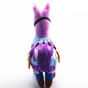Plush Toy Game Alpaca Rainbow Horse Stash Stuffed Doll Toys Kids Gift - TYRIAN PURPLE