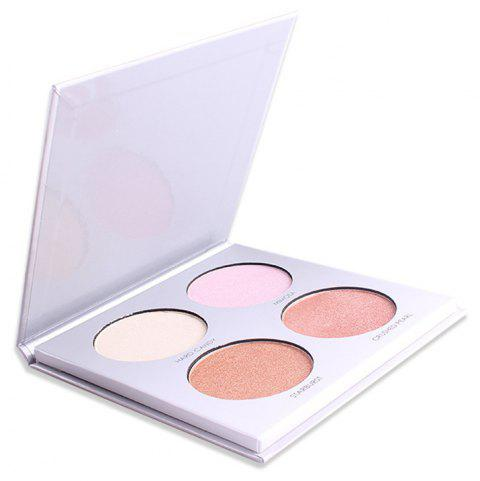 4 Color Highlight Powder Cream Concealer - 001