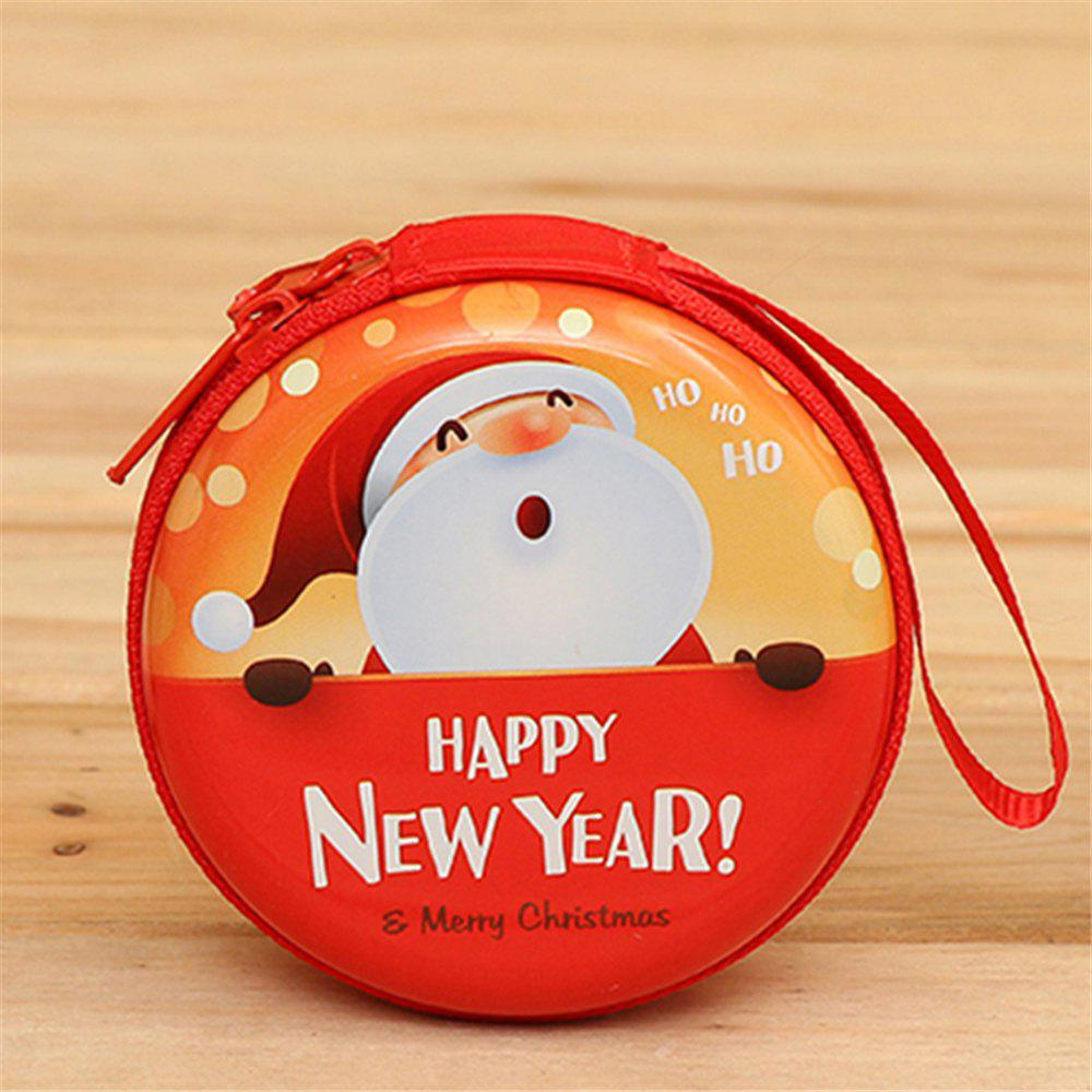 Christmas Gifts Coin Purse  Earphone Storage Bag  Tree Window Decoration Pendant - multicolor D