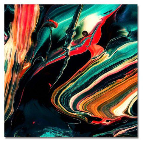 DYC Retro Abstraction Print Art - multicolor