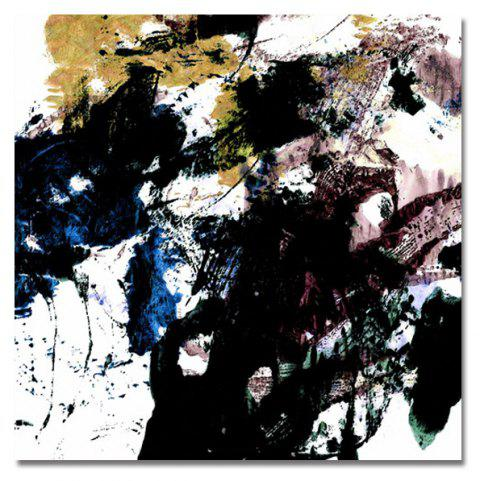 DYC Pen Ink Abstraction Print Art - multicolor