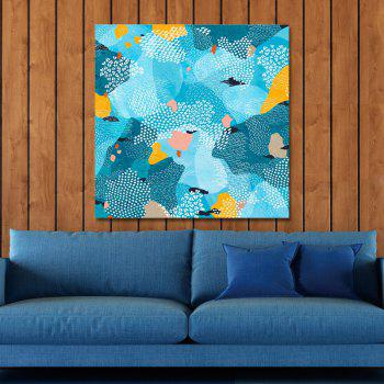 DYC Lovely Cartoon Abstractions Print Art - multicolor