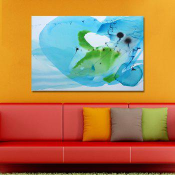 DYC Fashion Blue Abstraction Print Art - multicolor