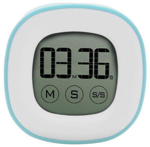 Electronic Liquid Crystal Touch Electronic Timer - TRON BLUE