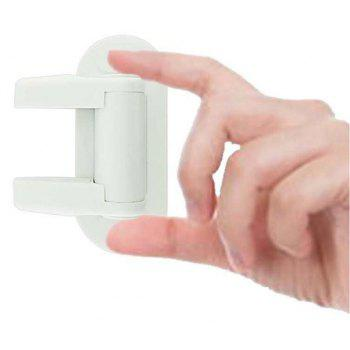 1PC / Lot Hot Door Lever Lock for Child Proof Handle - WHITE