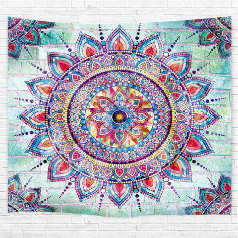 Web Celebrity Mandala 3D Printing Home Wall Hanging Tapestry for Decoration - multicolor W200CMXL180CM