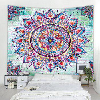 Web Celebrity Mandala 3D Printing Home Wall Hanging Tapestry for Decoration - multicolor W230CMXL180CM