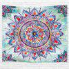 Web Celebrity Mandala 3D Printing Home Wall Hanging Tapestry for Decoration - multicolor W153CMXL102CM