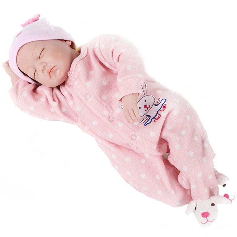 Reborn Fashion Doll Newborn Lifelike Kids Toy - PINK
