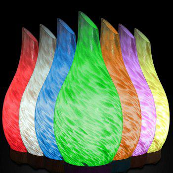 Seven Color Sunlight Glass Humidifier - BLACK CHINESE PLUG (2-PIN)