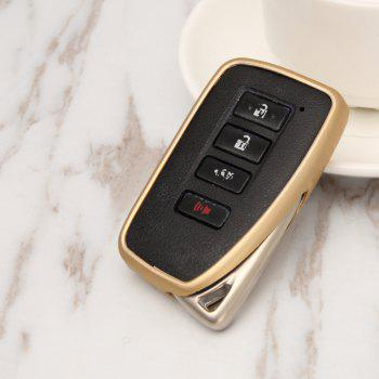 TPU Smart Car Key Case Durable Protection For Lexu - BLONDE