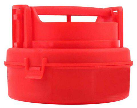 Fashion Pressure Burger Machine Kitchen Tool - RED