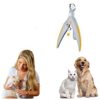 Pet Nail Trimmer Peti Care Clippers Grinders for Cat Dog - WHITE