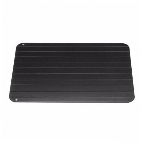 Defrosting Tray Thaw Rapid Heating Fast for Freezing Meat Tool - BLACK L