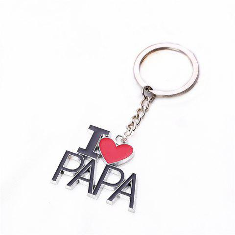 Father Day Keychain Small  Gift - multicolor