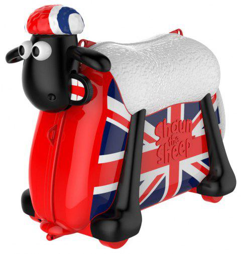 shaun the sheep Ride on Toy et valise - multicolor R