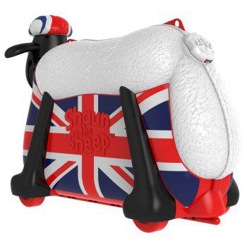 shaun the sheep Ride on Toy and Suitcase - multicolor R