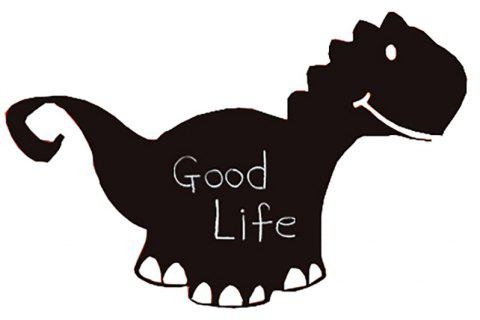 Cartoon Dinosaur Decorative Wall Stickers - BLACK 86*56*0.2CM