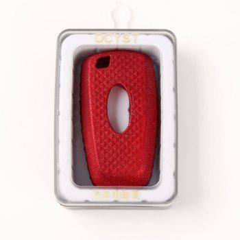TPU Smart Car Key Case For FORD  A Design - RED